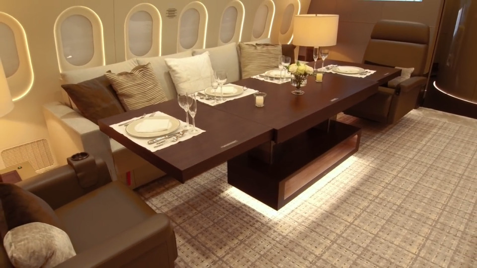A look inside the Boeing 787 - a penthouse apartment in the sky